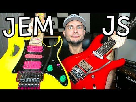 Ibanez JEM vs JS Guitar Comparison!
