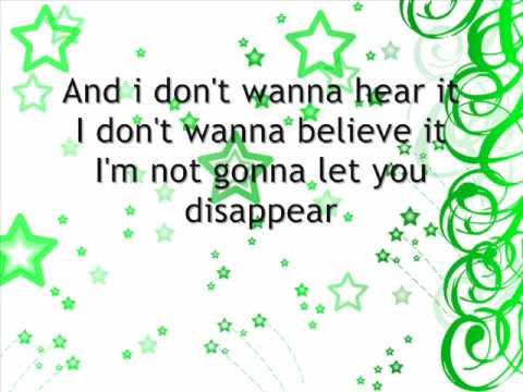 Selena Gomez Disappear lyrics