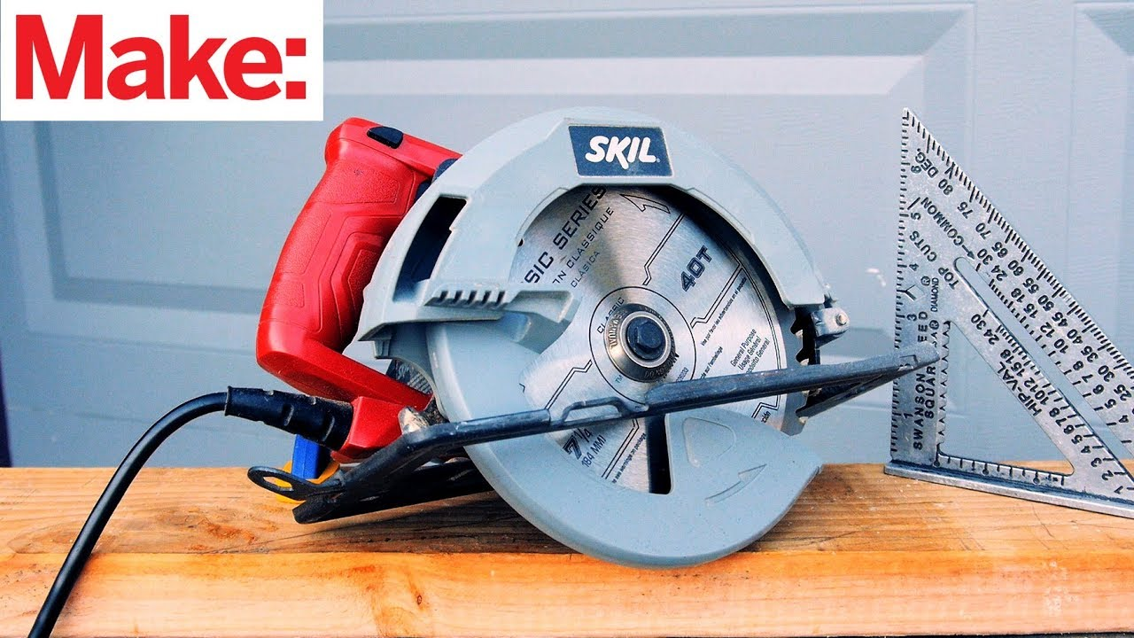 Circular Saw Good Side Up Or Down