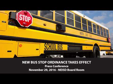 NEW BUS ORDINANCE TAKES EFFECT -  Press Conference 11/29/2016