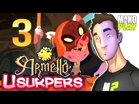[Armello: Usurpers] прохождение   САУРОН СЛАБАК! ► #3