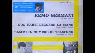 REMO GERMANI     NON FARTI LEGGERE LA MANO     1964