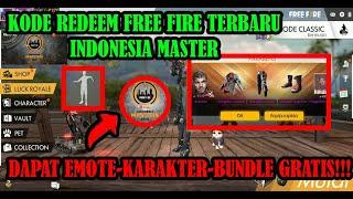 BURUAN!!! Kode Redeem Free Fire Indonesia Master - Garena Free Fire