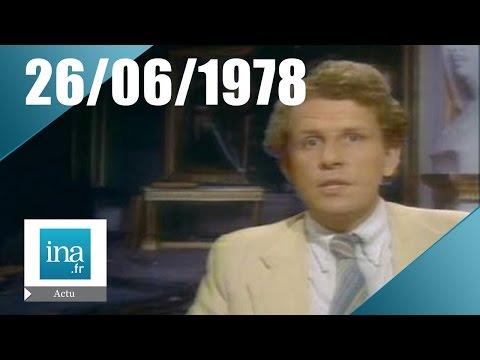 20h Antenne 2 du 26 juin 1978 - Attentat au Château de Versailles | Archive INA