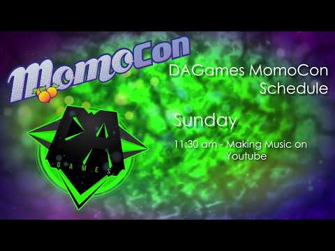 DAGames Momo Con Panels and CD Announcements!
