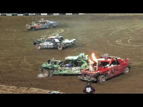 Nephi Ut, Demolition Derby 2016 Main Event (full Video)
