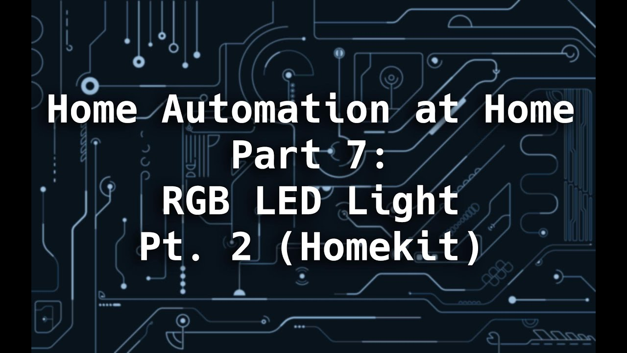 Home Automation at Home Part 7: Lights & Homekit