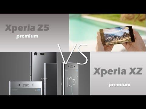 Sony xperia Z5 premium VS xperia XZ premium
