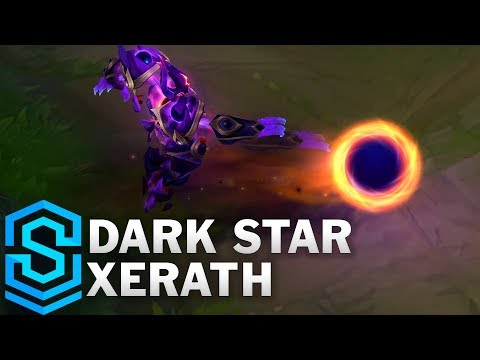Dark Star Xerath Skin Spotlight - League of Legends