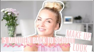 5 MINUTEN BACK TO SCHOOL MAKE UP LOOK😍 | PATRIZIA PALME