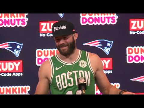 1d7984e0022876 Julian Edelman Patriots vs. Colts Week 5 Postgame Press Conference ...