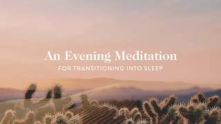 10 Minute Guided Meditation for Transitioning Into Sleep | Goop
