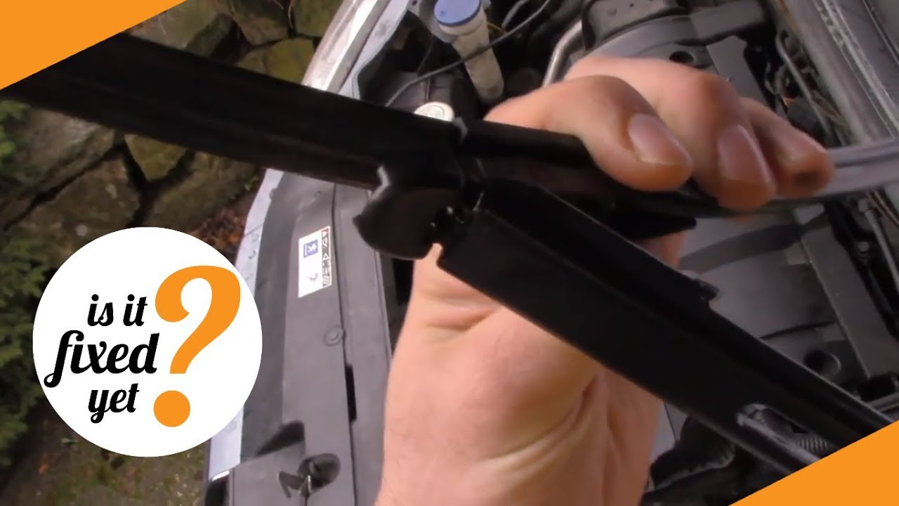 How to replace WIPERS on Peugeot 307