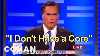 New Romney Campaign Slogans Ain't So Hot - CONAN on TBS
