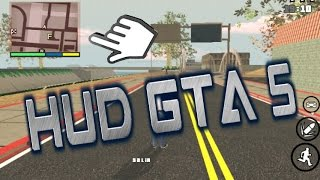 Mod hud do gta 5 para gta san android