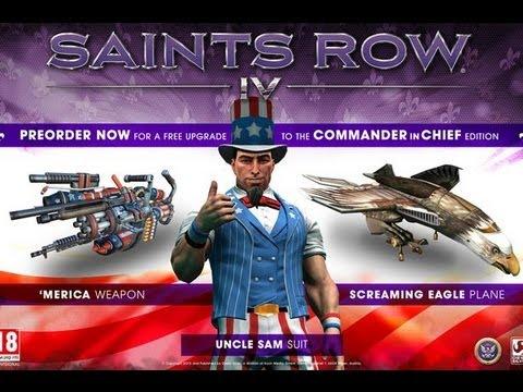 Saints Row 4: Commander in Chief Edition DLC