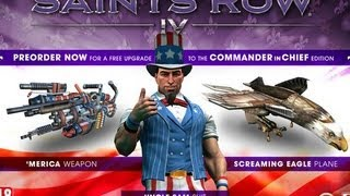 Saints Row 4: Commander in Chief Edition DLC
