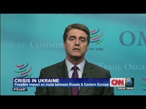 WTO's Roberto Azevedo on the crisis in Ukraine
