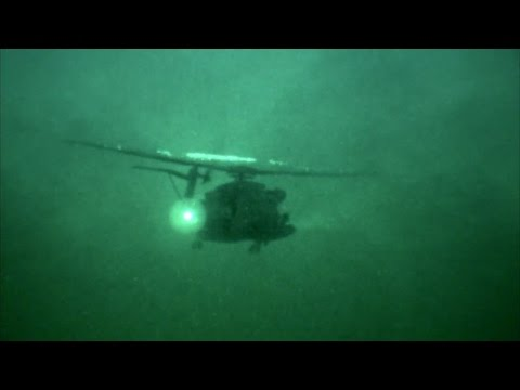 Military Night Training Operation