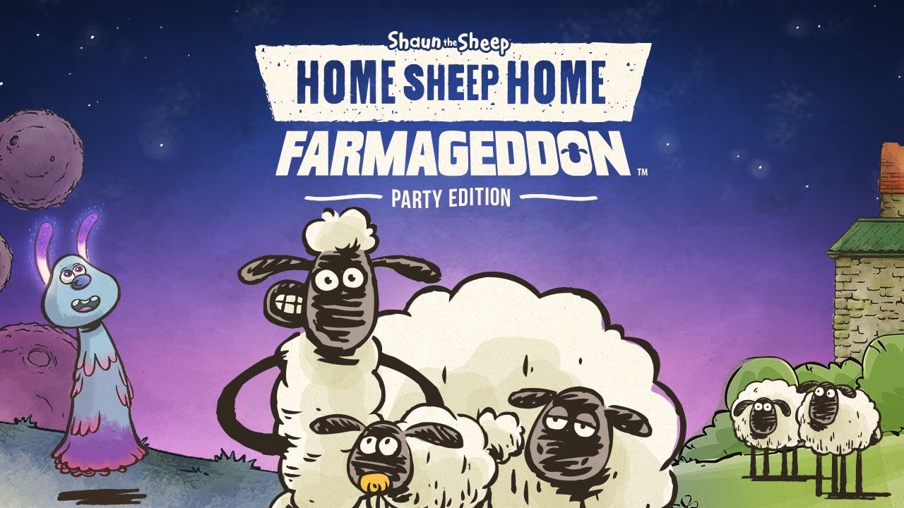 Home Sheep Home Farmageddon Party Edition - Coming Soon on Nintendo Switch!