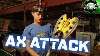 First Person Nerf War: Axe Attack