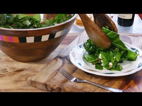 How To Make Famous Spinach Salad