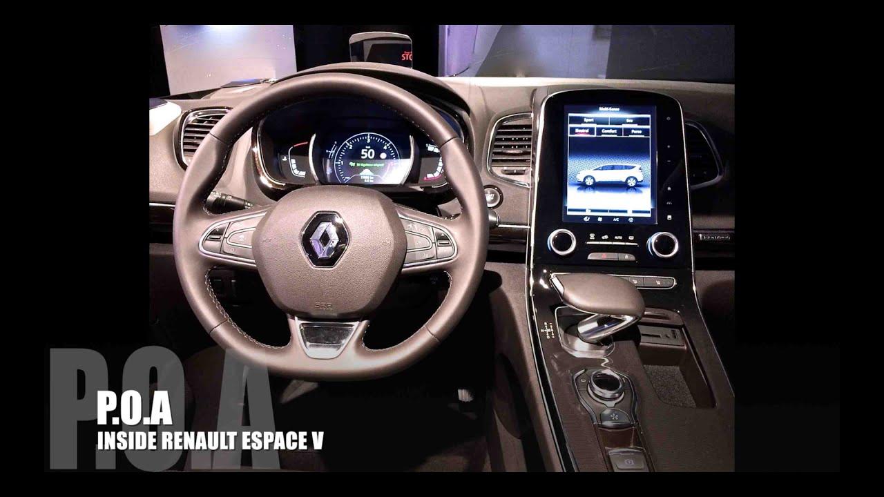 Inside Renault Espace V