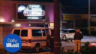 One dead and seven injured in shooting at Florida strip club - Daily Mail
