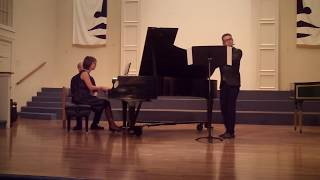 Sonata for Flute and Piano by Taktakishvili I. Allegro Cantabile