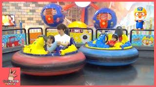 뽀로로 자동차 범퍼카 타고 어린이 놀이 시간 ♡ 뽀로로 테마 파크 키즈 카페 잠실점 #2 Pororo Kid Indoor Playground | 말이야와아이들 MariAndKids