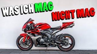 WAS ICH MAG / NICHT MAG   Honda CBR 600 RR