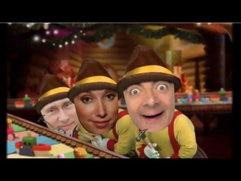 Прикольное поздравление с новым годом  'Эльф корпоратив' - Прикольное видео онлайн