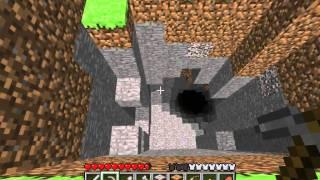 minecraft tutorials 11 how to survive thrive cave exploration gravel elevator