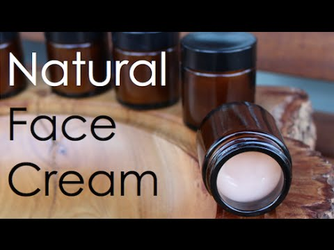 Dry skin face cream natural and homemade - herbal medicine