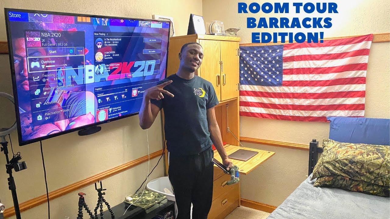 Download U.S. Army (Engineer Barracks) Room Tour! What it's like to live in the barracks?(Fort Campbell) 🇺🇸