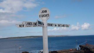 Wick to Thurso via John O`Groats by Bus   Scotland 2015