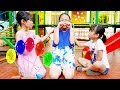 Learn Color - Fun indoor playground for family at play area - nursery rhymes song for baby