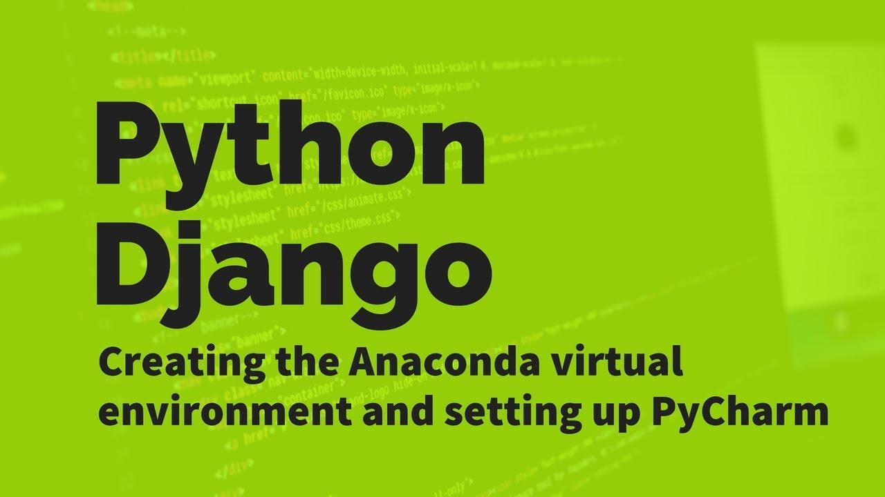 pycharm anaconda environment