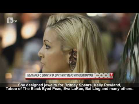 Exclusive Interview with Celebrity Jewelry Designer ANTOANETTA for European Television