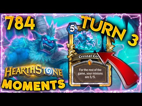TURN 3 QUEST COMPLETED?!   Hearthstone Daily Moments Ep.784