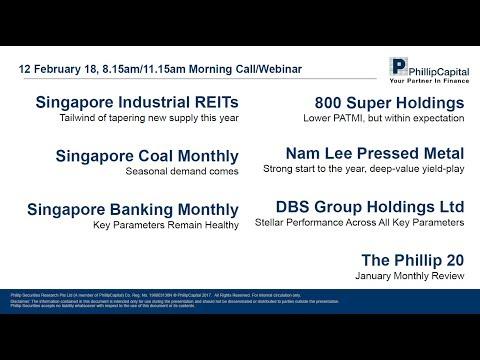 Market Outlook: Industrial REITs, Banking, Coal Sectors, and Phillip 20 Portfolio
