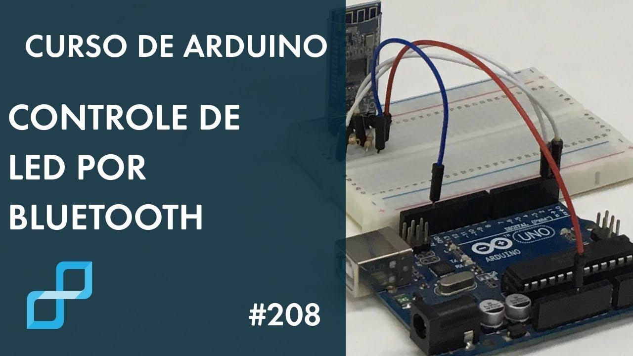 Controle De Led Por Bluetooth Curso De Arduino 208