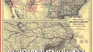 Railroad Maps - Old Historic Maps Of Usa Railroads