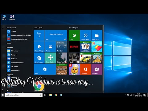 How to install Windows 10 latest version [Windows 10 Anniversary update 1607] [Beginners Tutorial]