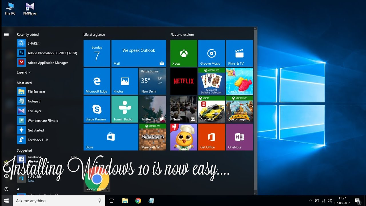how to install windows 10 latest version windows 10
