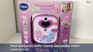 Vtech Kidisecrets Selfie - Démo en français