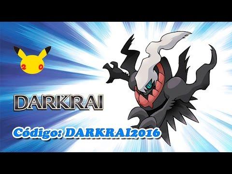 Consigue a Darkrai mediante código en Pokémon XY y Pokémon ROZA - EUROPA