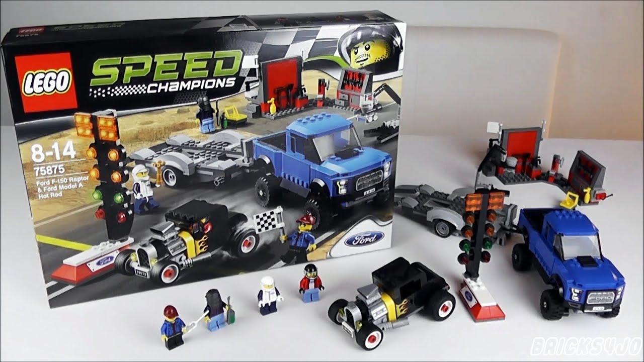 lego 75875 speed champions ford f 150 raptor ford model. Black Bedroom Furniture Sets. Home Design Ideas