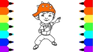 How To Draw Boboiboy Solar Tvactioninfo