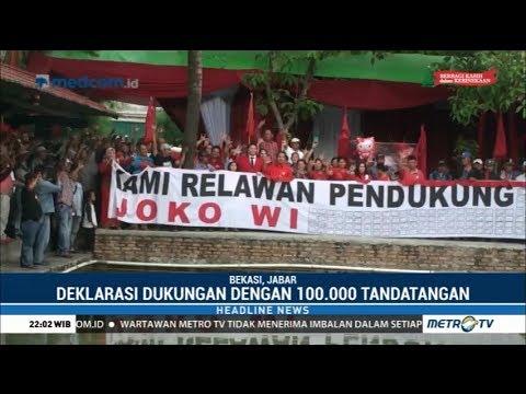 Relawan Jokowi Bersatu di Kebumen Deklarasikan Dukungan untuk Jokowi-Ma'ruf Mp3